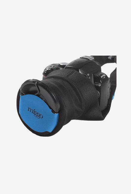 Miggo Grip and Wrap for Slr Cameras (Black/Blue)
