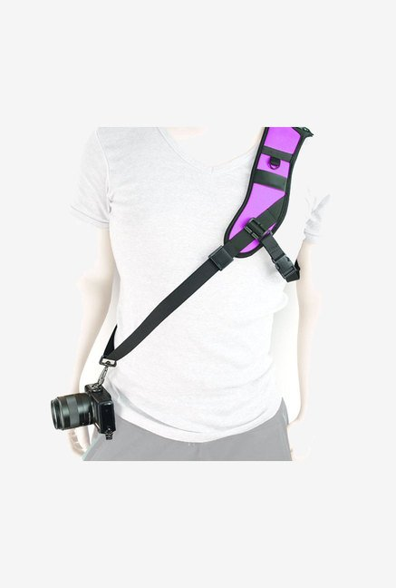 MegaGear Single Shoulder Neoprene Neck Strap Belt (Purple)