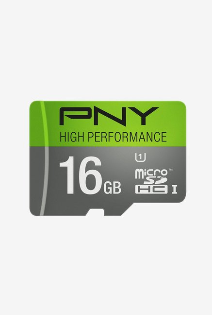 PNY High Performance 16 GB Class 10 Micro SDHC Card