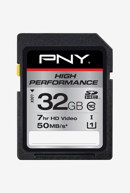 PNY High Performance 32GB Class 10 SDHC Memory Card