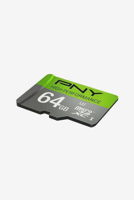 PNY High Performance 64GB Class 10 Micro SDXC Memory Card