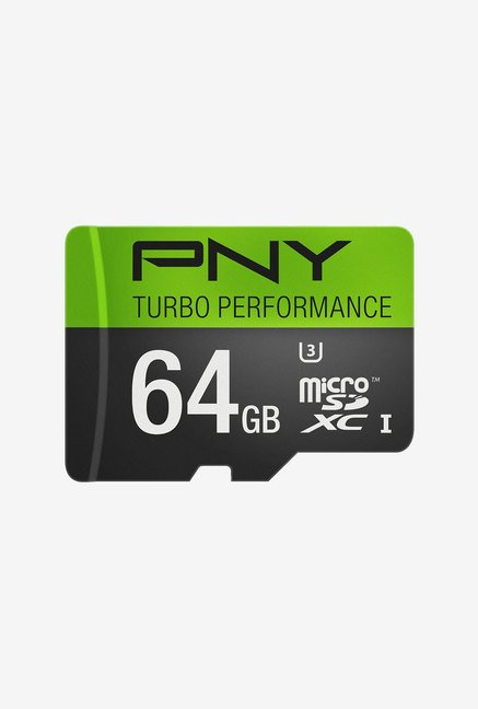 PNY Turbo Performance 64GB Class 10 Micro SDXC Memory Card
