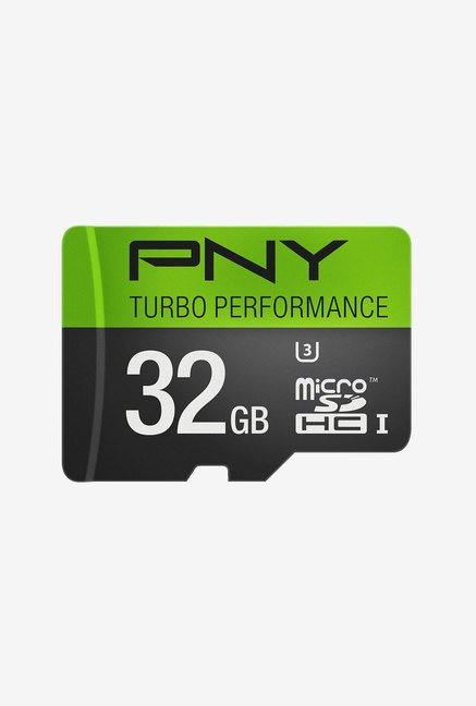 PNY U3Turbo Performance 32 GB Class 10 Micro SDHC Card