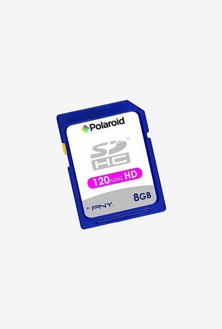 Polaroid 8 GB Class 4 Flash Memory Card (Black)