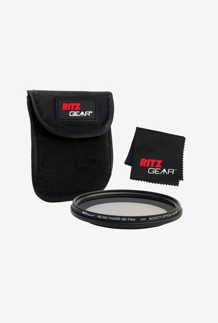 Ritz Gear 58mm Premium HD MC Fader ND Filter (Black)