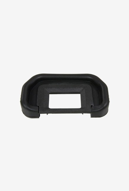 FotoTech 1 Piece Replacement Rubber Eyecup for canon (Black)