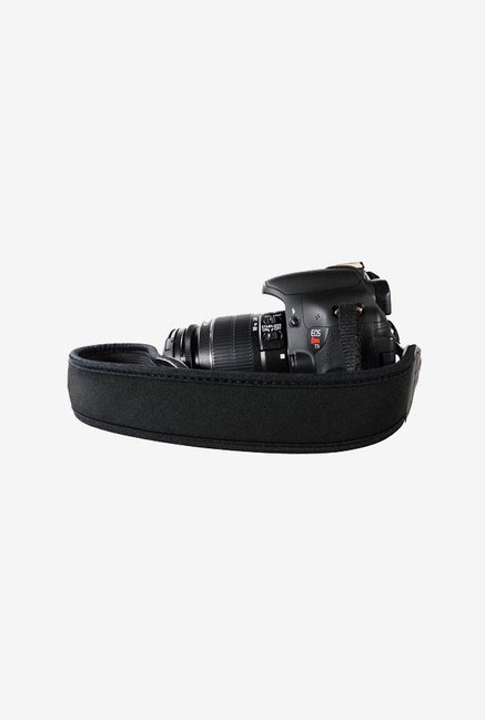 FotoTech Anti-Slip Neoprene Strap Belt for Canon (Black)
