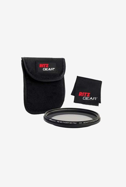 Ritz Gear 77mm Premium HD MC Fader ND Filter (Black)