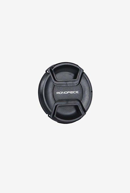 Monoprice 110183 58Mm Centre Pinch Lens Cap (Black)