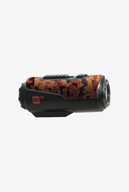 Monoprice 110520 Mhd Action Camera Skin 3 Pack (Orange Camo)