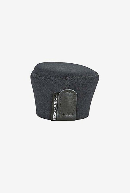 Monoprice 110567 Medium Neoprene Lens Cap (Black)