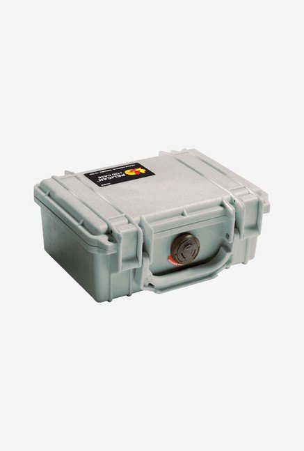 Pelican 1120 Case with Foam for Camera (Silver)
