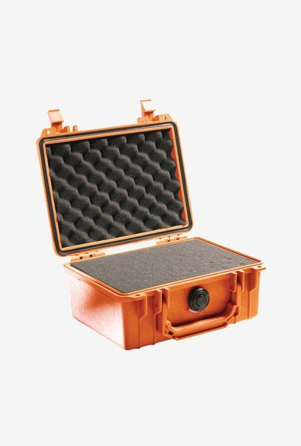 Pelican 1150 Case with Foam for Camera (Orange)