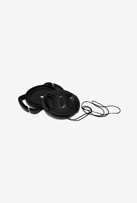 MegaGear Camera Buckle Lens Cap Holder (Black)