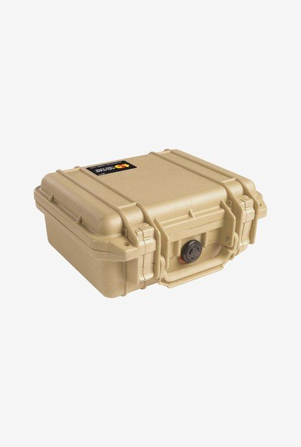 Pelican 1200 Case with Foam for Camera (Desert Tan)