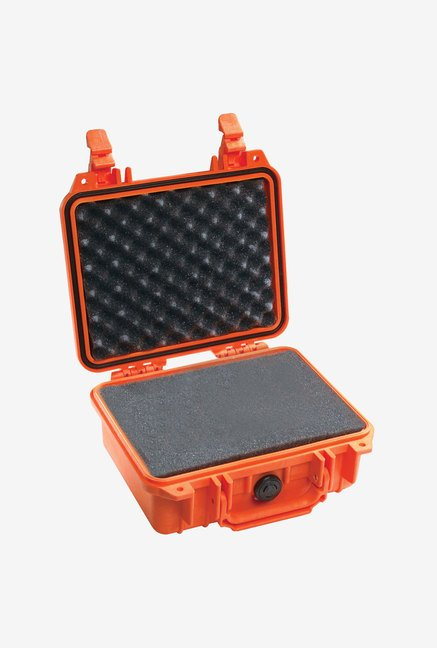 Pelican 1200 Case with Foam for Camera (Orange)
