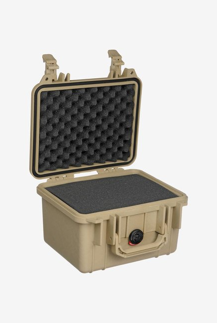 Pelican 1300 Case with Foam for Camera (Desert Tan)