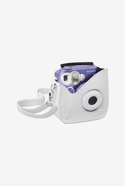 Polaroid Snap & Clip Camera Case for Polaroid PIC300 (White)