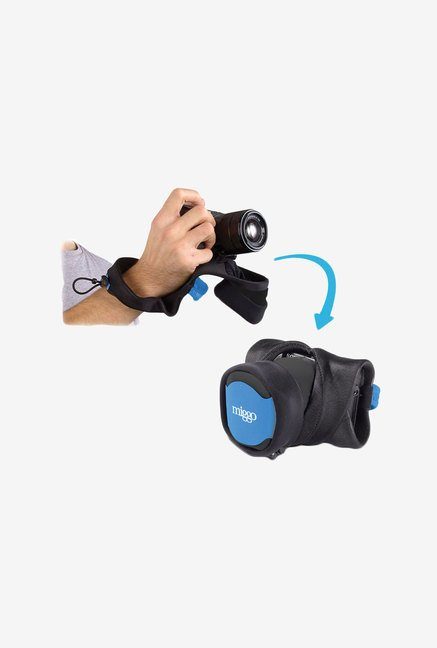 Mymiggo Grip and Wrap for Csc Cameras (Blue/Black)