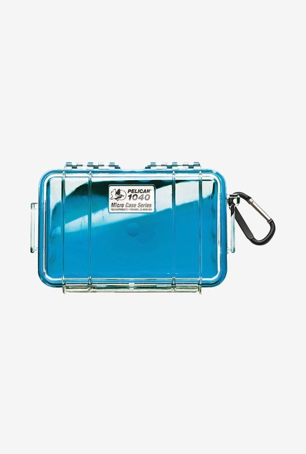 Pelican Micro Case with Clear Lid and Carabineer (Blue)
