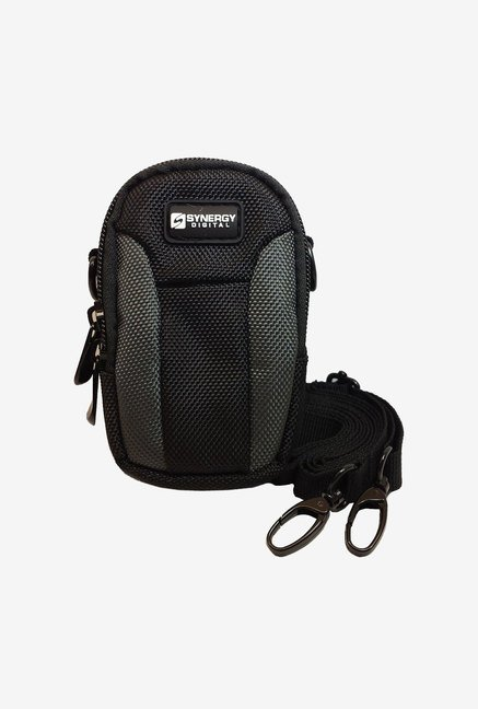 Synergy Digital Nikon Aw120 Digital Camera Case (Black/Grey)