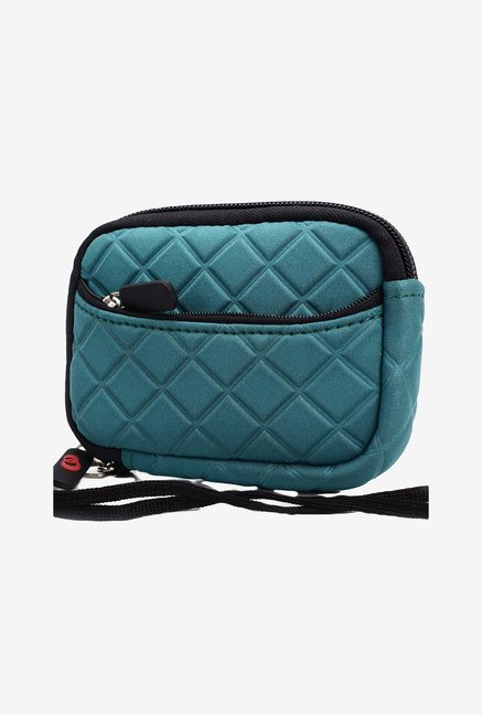 Kroo Quilted Neoprene Pouch for 3.5-Inch Camera (Green)