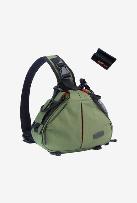 TechCare Ultra Light Dslr Camera Case (Army Green)