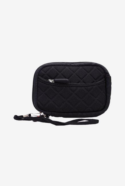 Kroo Quilted Neoprene Pouch for 3.5-Inch Camera (Black)