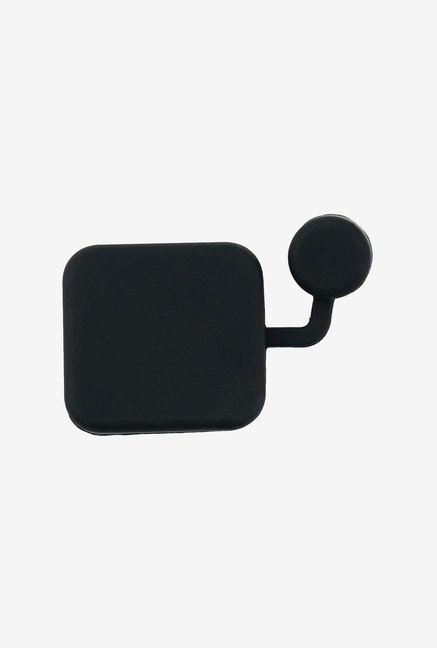 Toughsty Soft Silicone Lens Cover Cap (Black/Clear)