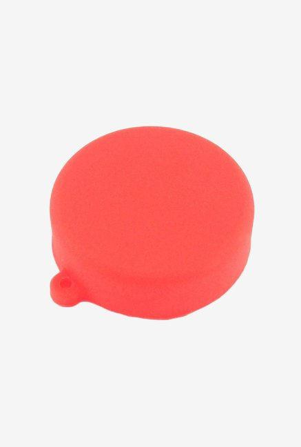 Toughsty Silicone Rubber Protective Lens Cover Cap (Red)