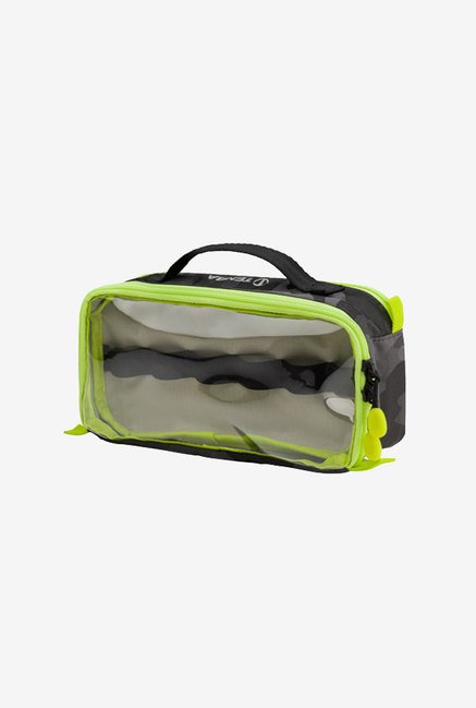 Tenba Tools Cable Duo 4 Cable Pouch (Black Camouflage/Lime)