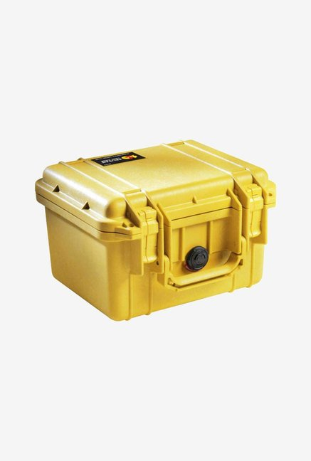 Pelican 1300 Case with Foam for Camera (Yellow)
