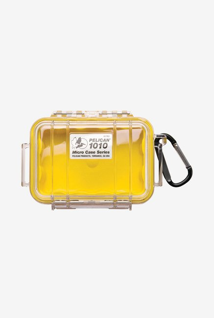 Pelican 1010 Micro Dry Case with Clear Lid (Yellow)