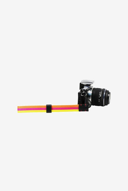 FotoTech Knitted Grosgrain Wrist Strap (Yellow & Orange)
