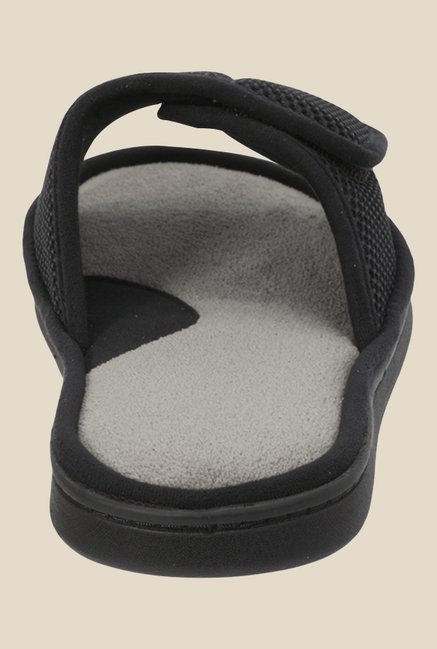 Dearfoams Black Casual Sandals