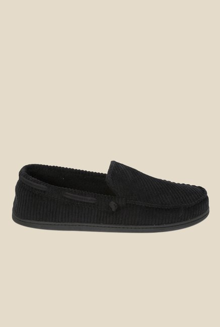 Dearfoams Black Casual Loafers