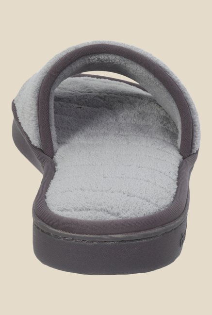 Dearfoams Grey Casual Sandals
