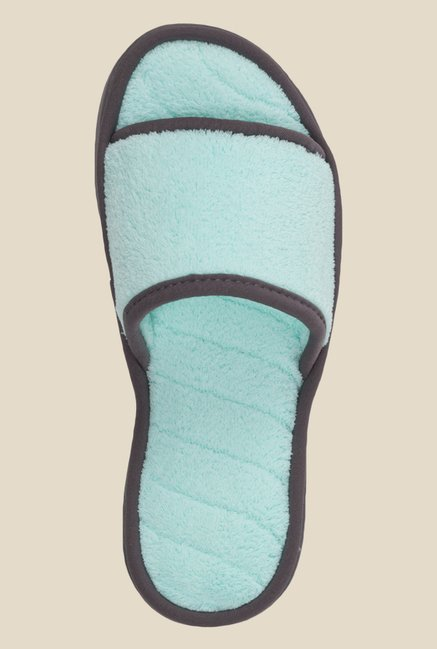 Dearfoams Turquoise Casual Sandals