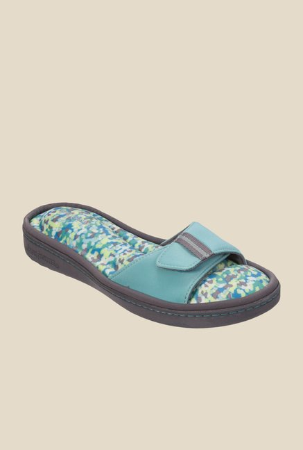 Dearfoams Active Turquoise Casual Sandals