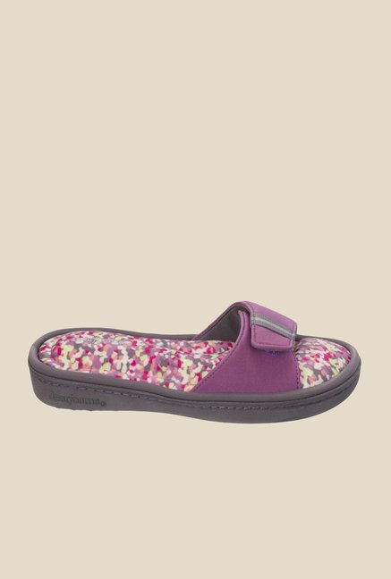Dearfoams Active Purple Casual Sandals