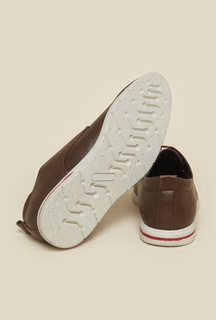 Gen X by Metro Brown Casual Shoes