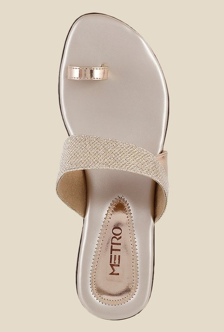 Metro Chikoo Toe Ring Wedges