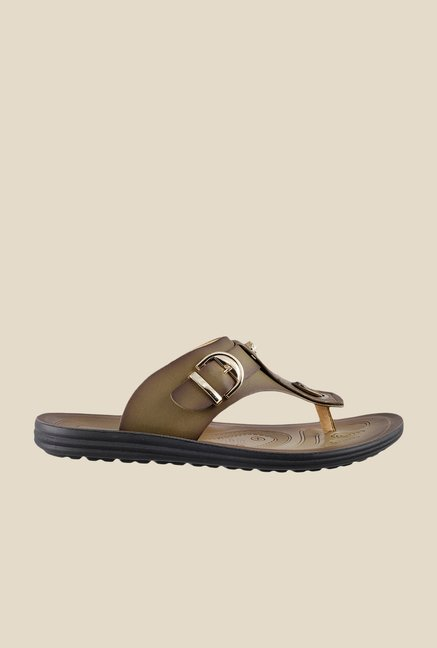 Da Vinchi by Metro Khaki Thong Sandals