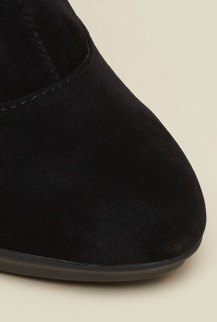 Metro Black Casual Boots