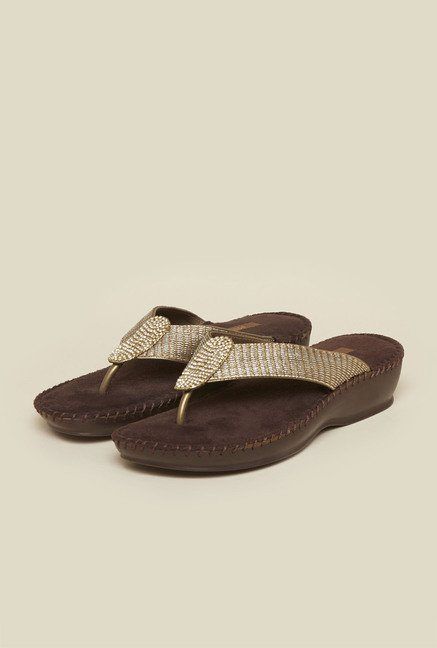 Metro Chikoo Thong Sandals
