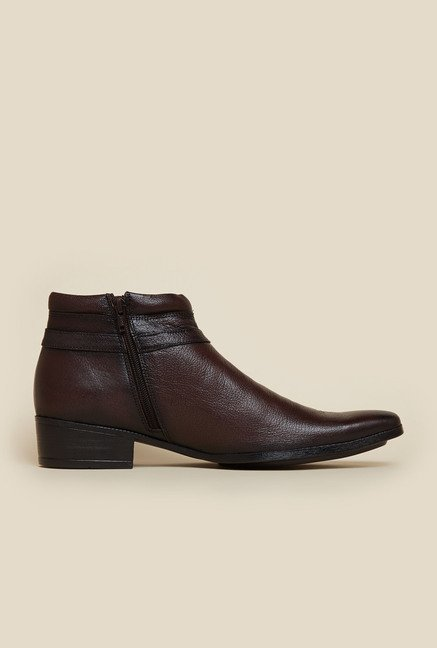 Mochi Brown Casual Boots