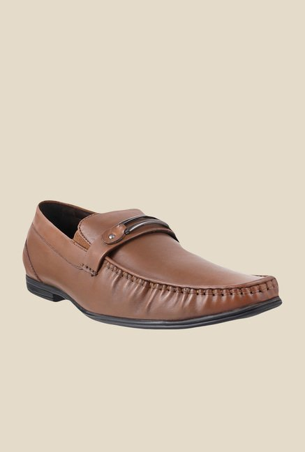 Metro Tan Formal Moccasins