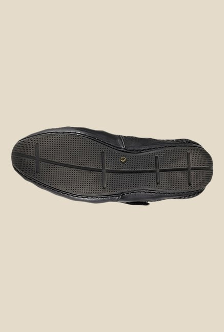 Da Vinchi by Metro Black Fisherman Sandals