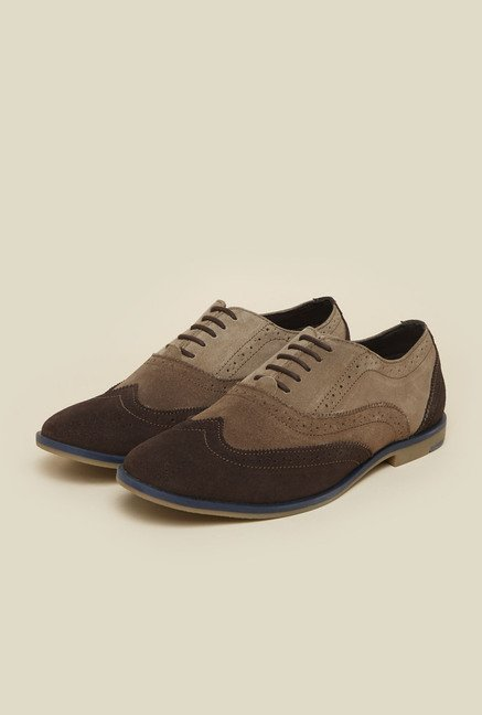 Gen X by Metro Brown Oxford Shoes