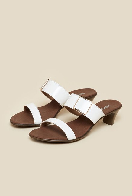 Mochi White Formal Sandal